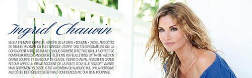 Page FB du forum des fans d'Ingrid chauvin
